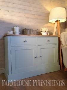 Painted Oak Kitchen Island