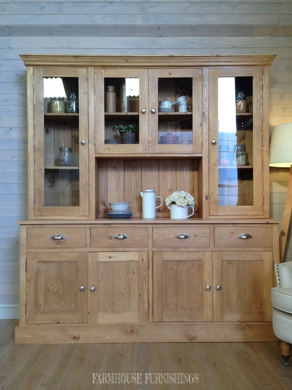 . Solid Pine and Oak Welsh Dresser   Farmhouse Furnishings