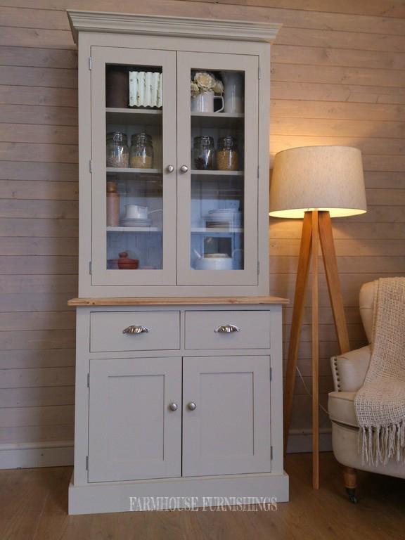 Handmade Solid Pine 3ft Shaker Style Welsh Dresser Small