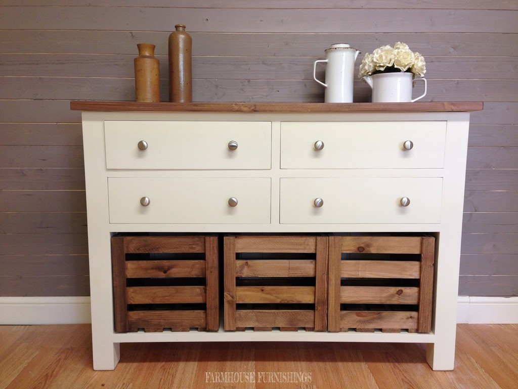 Solid pine sideboards for sale 4ft rustic solid pine for Pine sideboard ikea