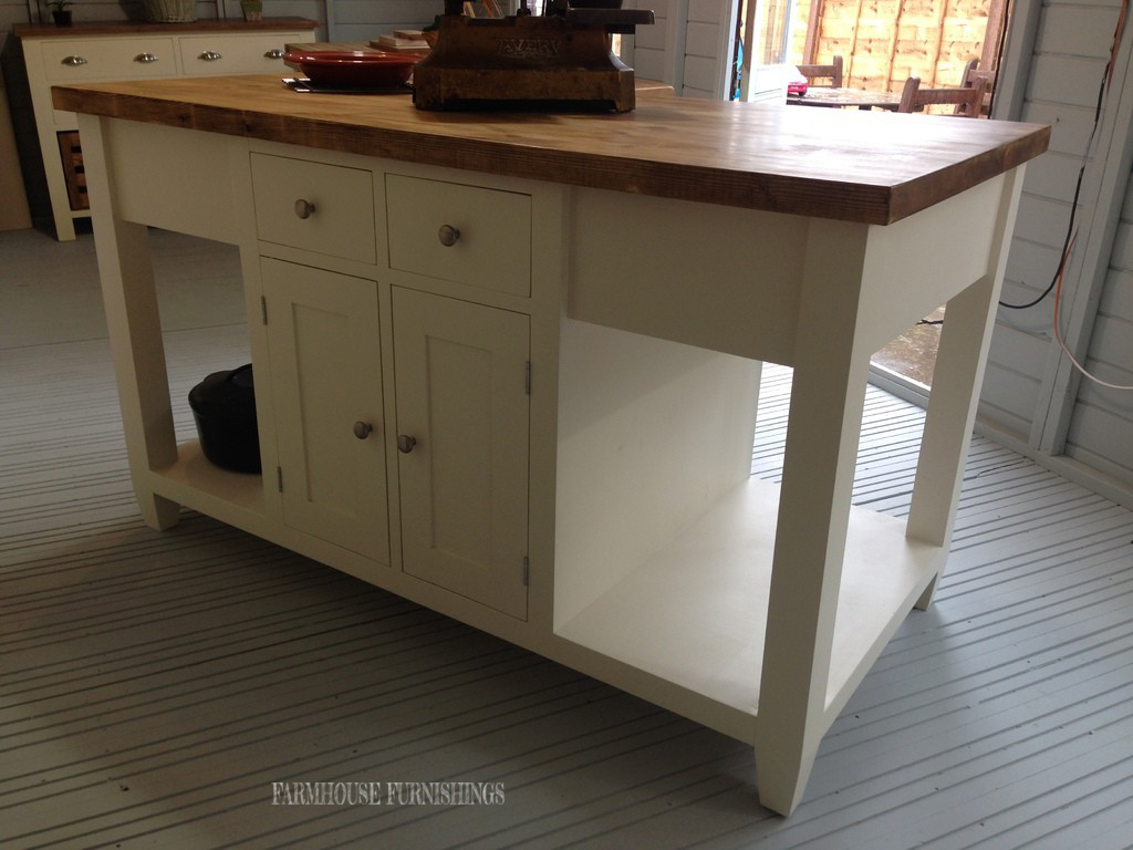 Kitchen Island Painted Kitchen Units Oak Kitchen Islands