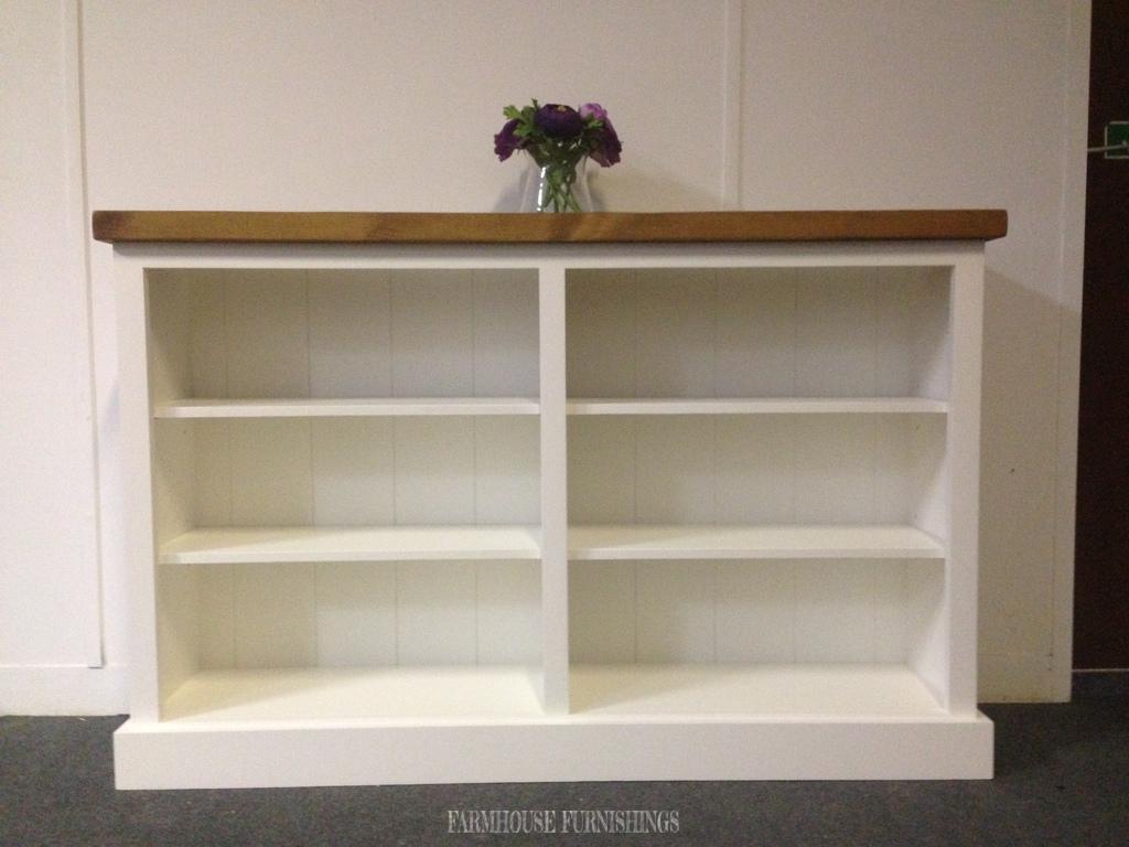 Solid Pine Bookcase Farmhouse Furnishings