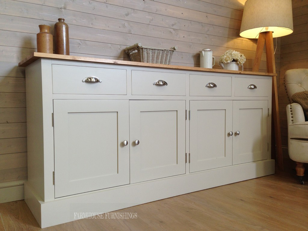 Solid Pine Sideboards 6ft Sideboard Farmhouse
