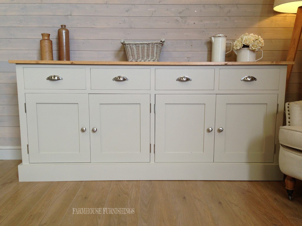 Solid pine sideboards solid pine 6ft sideboard farmhouse for Sideboard pinie